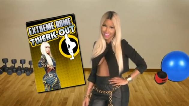 Nicki Minaj Presents Extreme Home Twerk Out The
