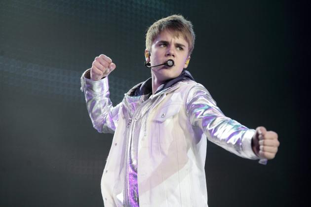 Justin Bieber in Manchester