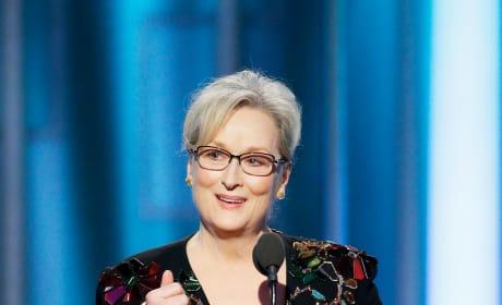 Meryl Streep Golden Globes Speech