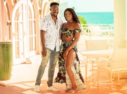 Steven and Martine for Love In Paradise: The Caribbean, A 90 Day Story