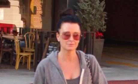 Kyle Richards Runs Errands in Beverly Hills