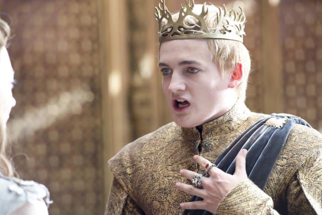 King Joffrey Dying Photo