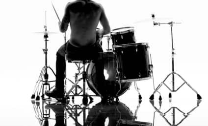 Justin Bieber: Shirtless, Drum-Playing for Calvin Klein!