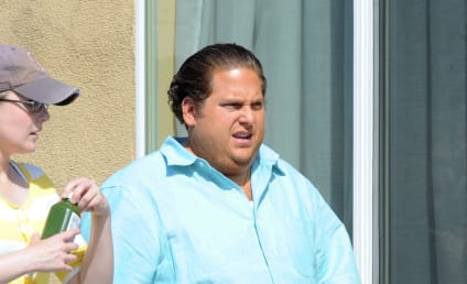 Jonah Hill: VERY Large and In Charge on the Set of New Movie