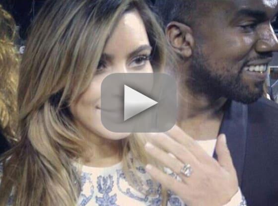 Kim Kardashian Engagement Ring: All the Details!