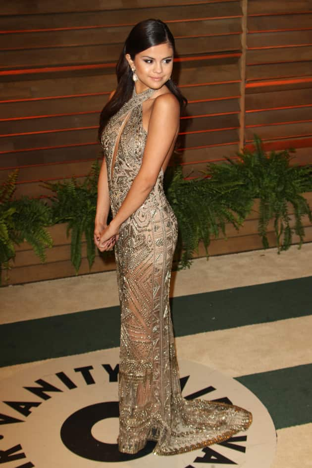 Selena Gomez at the Vanity Fair Party