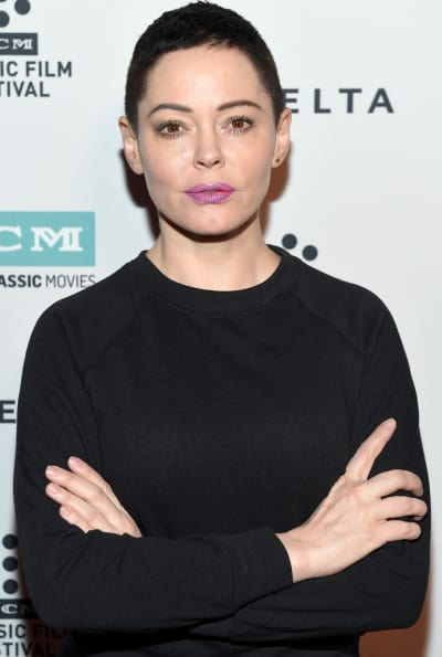 Rose McGowan, Arms Crossed