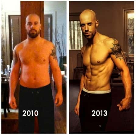 Chris Daughtry Weight Loss Photos Shirtless Ripped