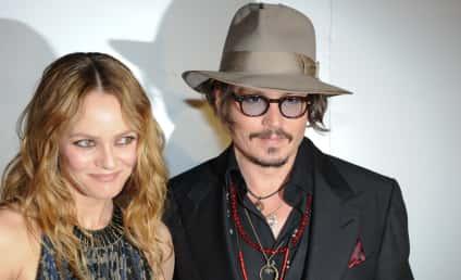 """Vanessa Paradis Defends Johnny Depp as """"Sensitive, Loving"""""""