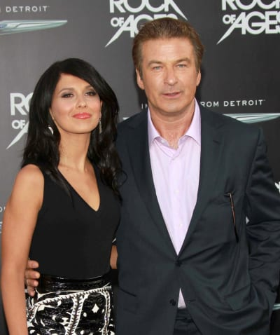 Hilaria Thomas and Alec Baldwin Photo