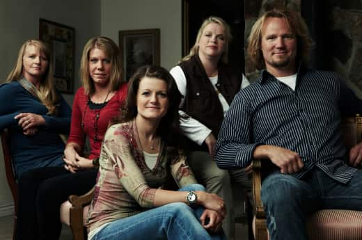 Sister Wives Cast Photo