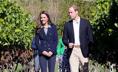 William and Kate at the Vineyard