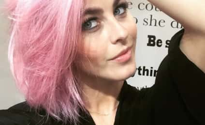 Julianne Hough Has Pink Hair, Just Doesn't Care!