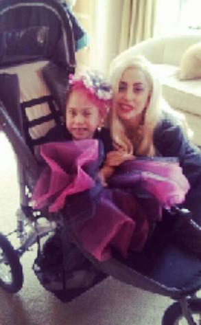 Lady Gaga Visits Sick Fan