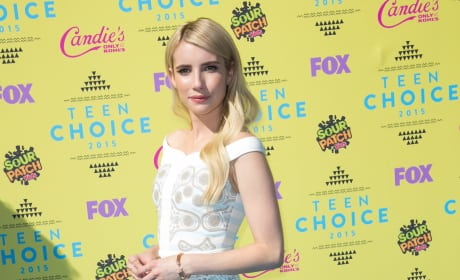 Emma Roberts at Teen Choice Awards