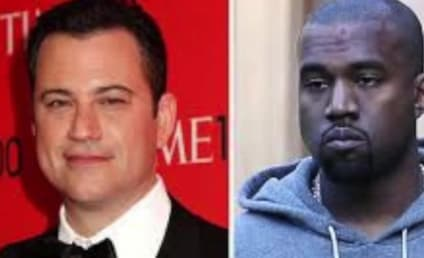 Kanye West Deletes Twitter Bashing of Jimmy Kimmel