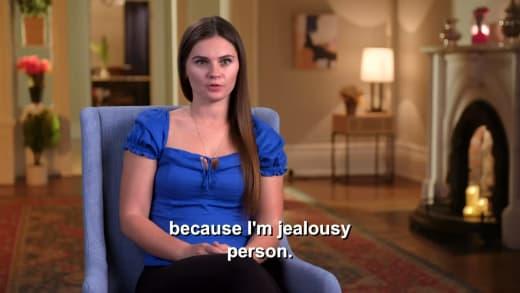 Julia Trubkina - because I'm jealousy person