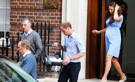 Prince William, Car Seat