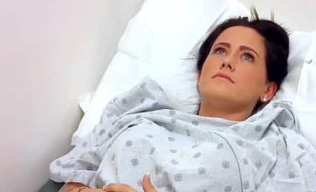 Jenelle in the Hospital