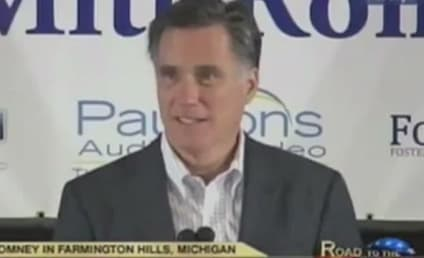 Mitt Romney Pretends to Love Michigan