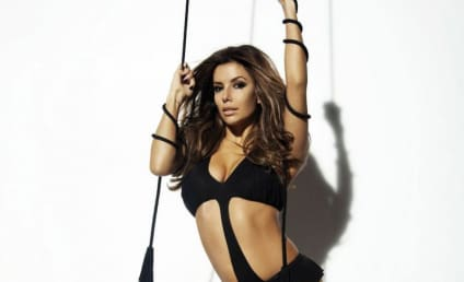 Victoria Beckham and Eva Longoria Pose for LG Campaign, Battle for Bedroom Supremacy