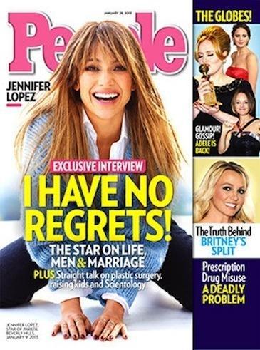 Jennifer Lopez People Cover