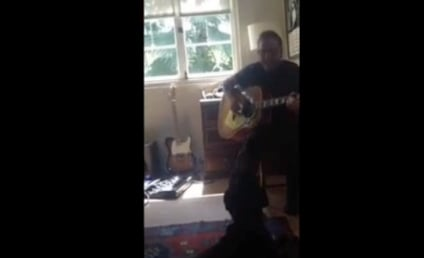 Kiefer Sutherland Plays Guitar, Dog Sings in Potential Chart-Topping Duet