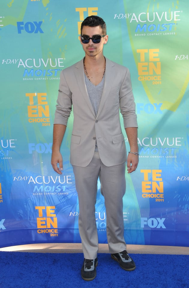 Joe Jonas at the TCAs