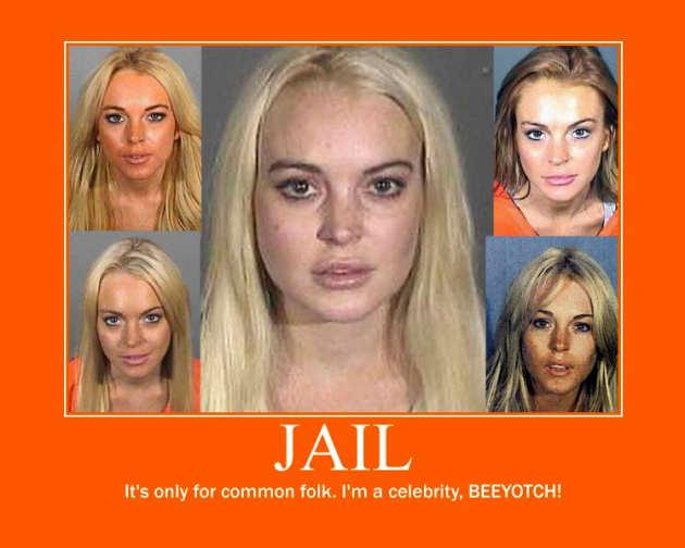 Lindsay Lohan Motivational Poster