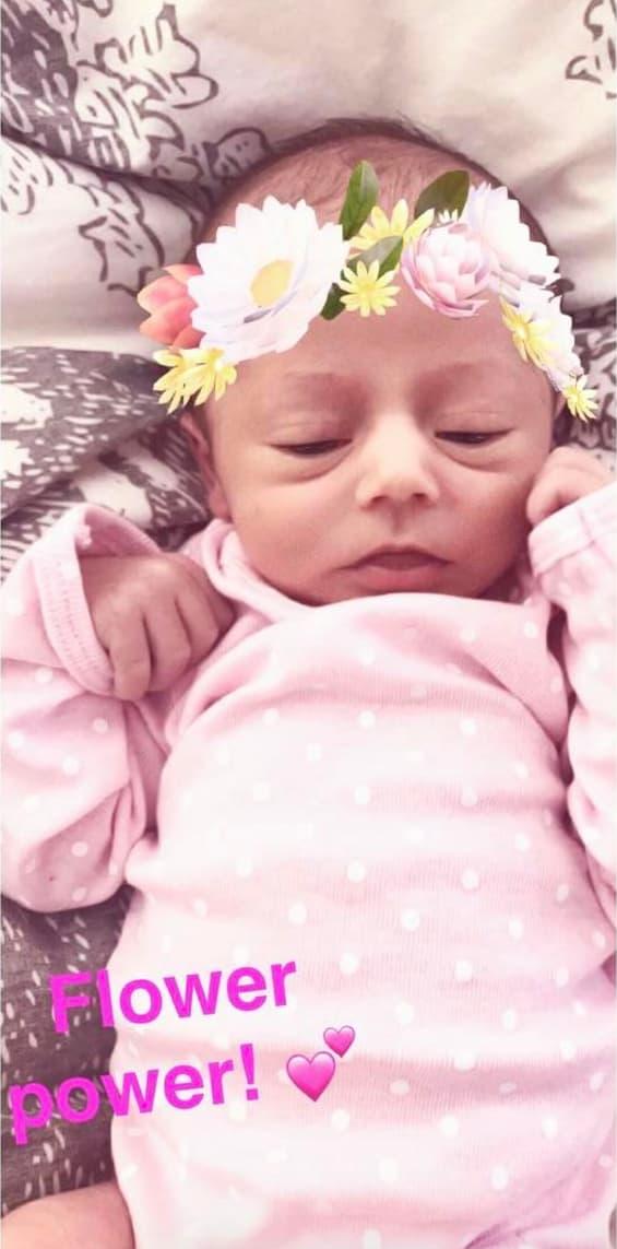 Jenelle Evans Baby Ensley Makes Adorable Snapchat