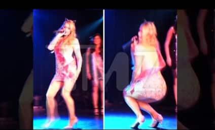 Paris Hilton Fakes Orgasm on Stage, Creates Wave of Sex Tape Nostalgia