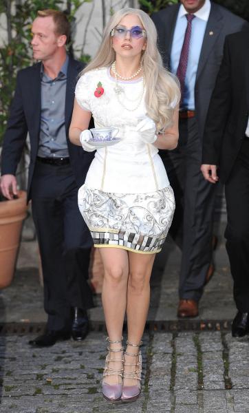 Tea Time With Lady Gaga