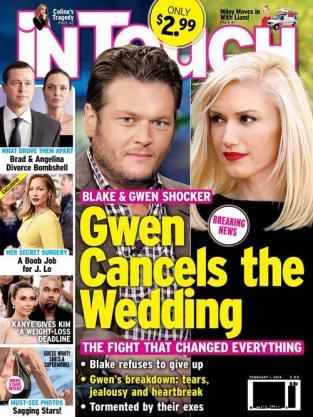 Gwen Stefani and Blake Shelton: Wedding is Off!