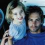 Paul with daughter Meadow Walker