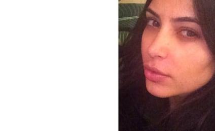 Kim Kardashian: Makeup-Free on Instagram!