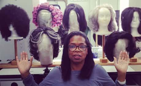 Oprah, No Makeup
