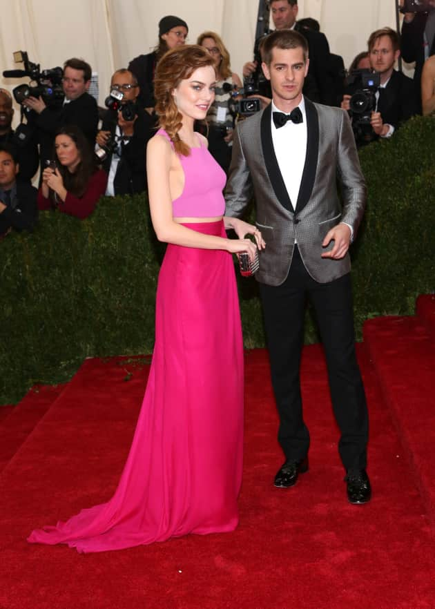 Emma Stone and Andrew Garfield at the MET Gala