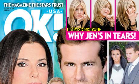Sandra Bullock, Ryan Reynolds Cover