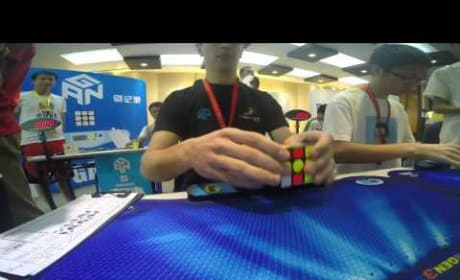 Teenager Solves Rubik's Cube in HOW Long?!?