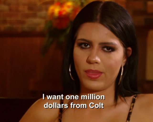 Larissa lima i want one million dollars from colt