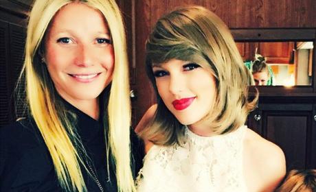 Gwyneth Paltrow and Taylor Swift