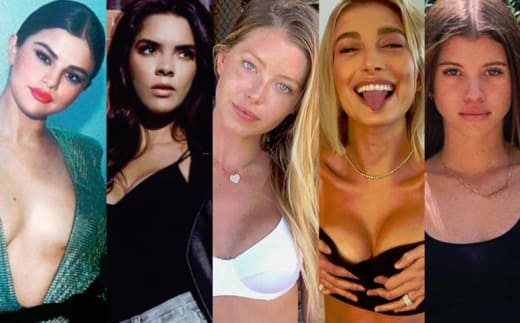 Selena Gomez, Paola Paolin, Baskin Champion, Hailey Baldwin, Sofia Richie Split