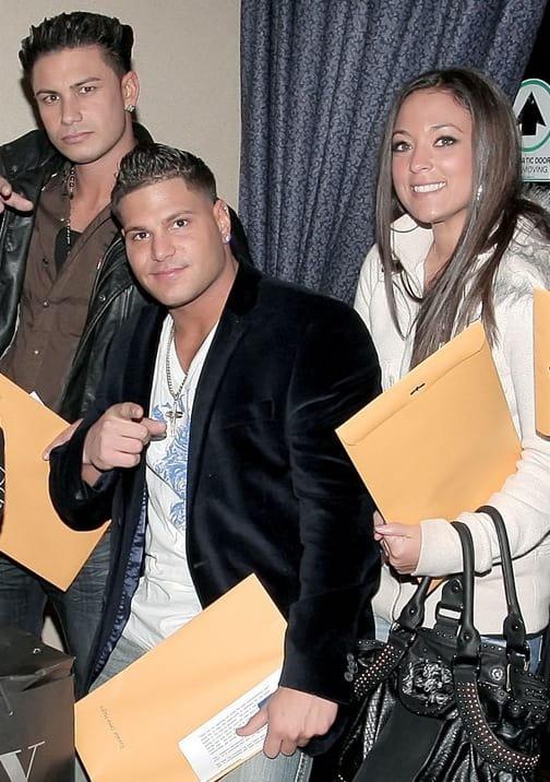 Ronnie, Sammi and Pauly