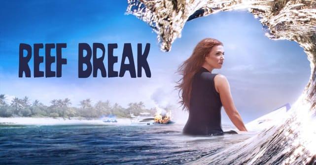 Reef break title card