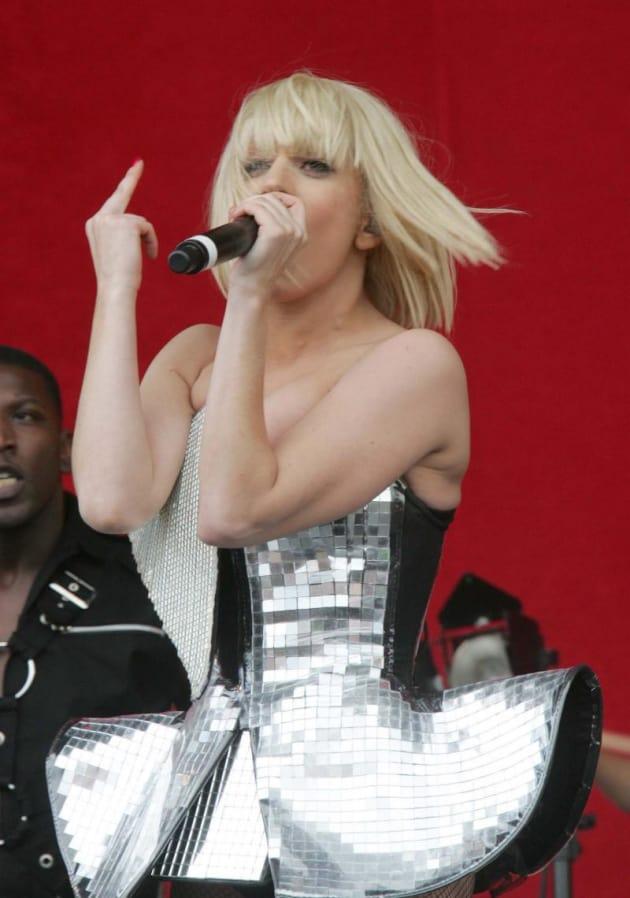 Gaga Live Pic