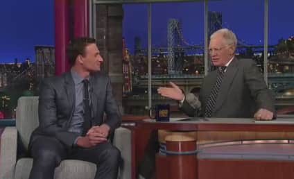 Ryan Lochte on Letterman: Why Do You Have a Show Again?