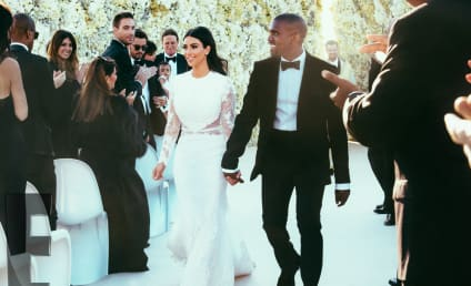 Kim Kardashian Wedding Dress Debate: Kanye vs. Kris!
