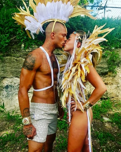 Jeremy Meeks Kissing Chloe Green