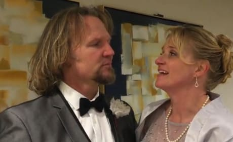 Kody & Christine Brown Celebrate Mykelti's Wedding