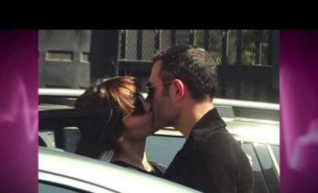 Katherine McPhee and Smash Director Michael Morris Caught Kissing